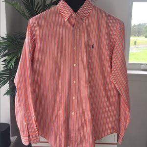 Ralf Lauren men's shirt sleeve size L classic fit